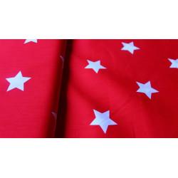 Csillag - designer piros...