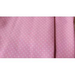 Rózsaszín pöttyös designer...