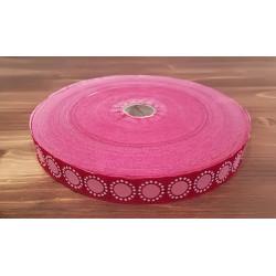 Pink pamut szövetszalag