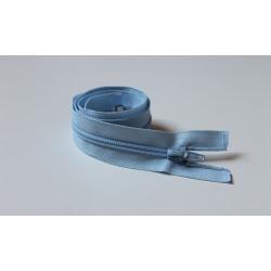 Halványkék cipzár - 70 cm