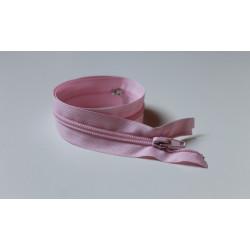 Rózsaszín cipzár - 45 cm