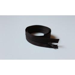 Barna cipzár - 40 cm
