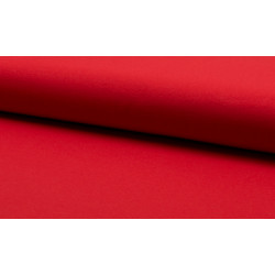 Piros pamut jersey méteráru